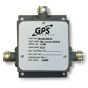 MS12 - 1x2 MIL SPEC GPS Splitter